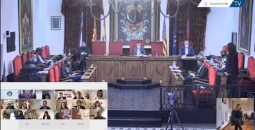 El Ple aprova definitivament la suspensió de la taxa de taules i cadires i mercats ambulants en 2021 amb la finalitat de pal·liar els efectes econòmics de la pandèmia