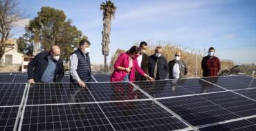Nuevos Riegos el Progreso  apuesta por la innovación y las energías renovables con la  instalación de una planta solar junto al Embalse de Sivaes