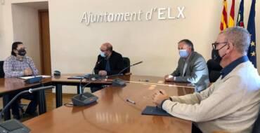 El Ayuntamiento renueva los acuerdos para la promoción del Camp d'Elx con La Unió y la Comunidad de Labradores y Ganaderos