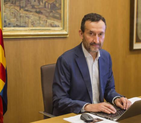 """Carlos González: """"La llegada del AVE es una oportunidad de desarrollo económico y un revulsivo para reactivar nuestro tejido comercial y turístico"""""""