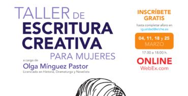 La concejalía de Igualdad y la Casa de la Dona retoman el Taller de escritura creativa para mujeres