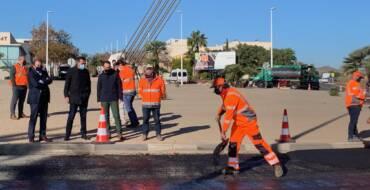 El Ayuntamiento inicia en el Pont del Bimil·lenari un plan de mejora del asfaltado dotado de 2,5 millones de euros