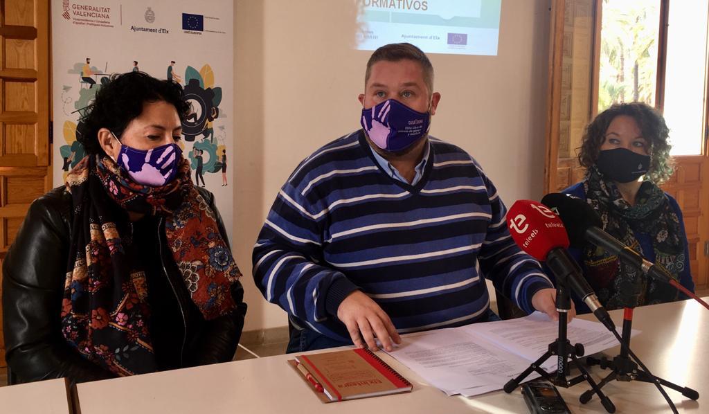 La tercera edición de 'Elx Integra' destina cerca de 140.000 euros para facilitar el acceso al mercado laboral de las personas más vulnerables