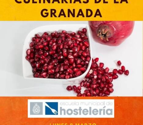 curso Aplicaciones Culinarias de la Granada