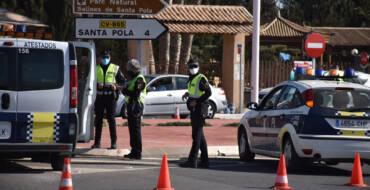 El edil de Seguridad destaca el buen comportamiento de la población en el segundo fin de semana del cierre perimetral del municipio