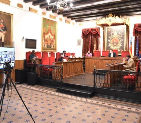 Les ajudes al calcer i el Debat de l'Estat del Municipi centren el debat en la sessió plenària