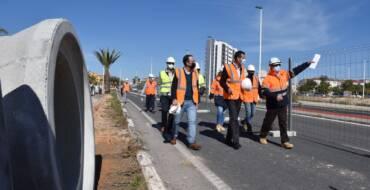 Un nuevo colector permitirá reducir los problemas de inundaciones en San Antón y la carretera de Santa Pola