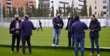 Visita a las obras del Polideportivo Altabix