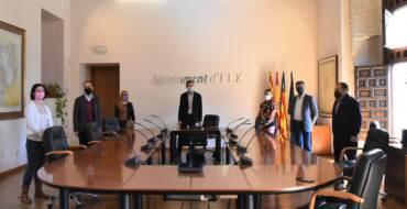 El alcalde reitera la necesidad de que el Consell financie los gastos de la conservación y protección de El Palmeral