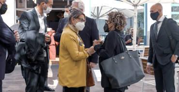El alcalde de Elche se reúne con la eurodiputada Rodríguez-Piñero y empresarios del calzado para analizar vías de acceso a los fondos europeos