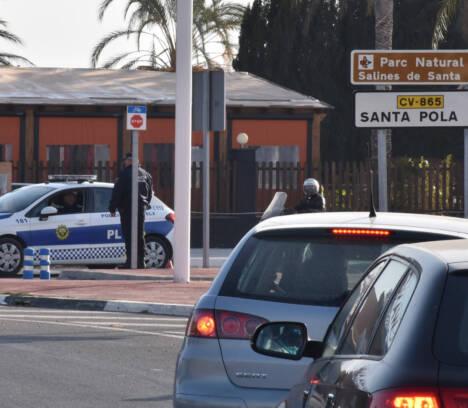 La Policía Local de Elche registra 79 propuestas de sanción durante el último fin de semana del cierre perimetral