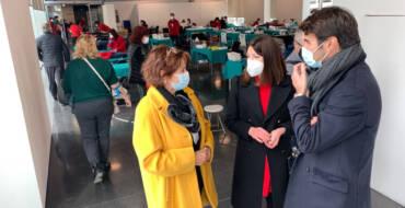 La concejala de Sanidad agradece la solidaridad de las 447 personas que participaron el sábado en la XIII maratón de Donación de Sangre en el Centro de Congresos