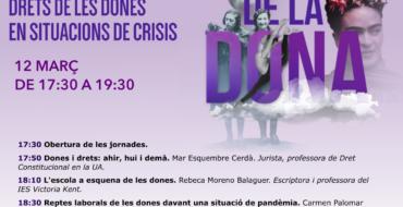 Jornadas Online: Los retrocesos en los derechos de las mujeres en situaciones de crisis
