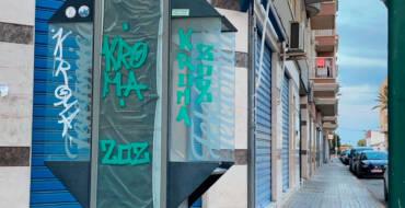 La Policía Local identifica a dos hombres como autores de pintadas y actos vandálicos en La Hoya