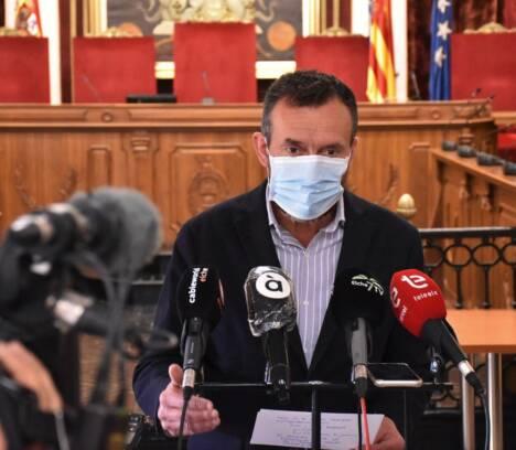Carlos González pide cautela y responsabilidad a la población ilicitana para evitar una cuarta ola de contagios por coronavirus