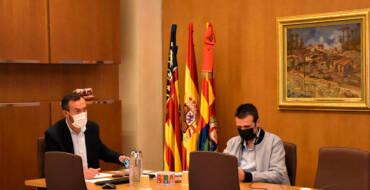 """Carlos González destaca que """"el sector del calzado ha encontrado empatía y apoyo decidido del Consell a sus reivindicaciones"""""""