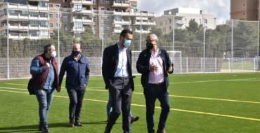 Concluyen las obras de renovación integral y mejora del Polideportivo Altabix con dos nuevos campos de césped artificial de fútbol
