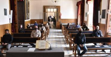 El Saló de Plens de l'Ajuntament d'Elx acull la presa de possessió de 7 nous funcionaris