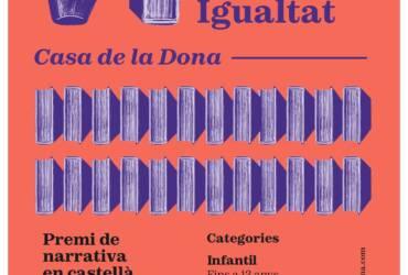 VI Certamen Literario para la Igualdad «Casa de la Dona»