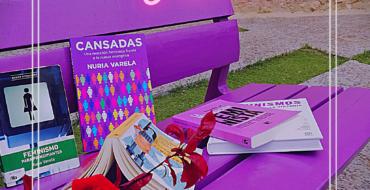 Sant Jordi Violeta, por el Día Internacional del Libro
