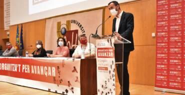 """Carlos González: """"Amb sindicats forts hi haurà més progrés, avanços econòmics i socials"""""""