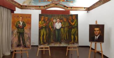 Homenaje a Federico García Lorca y Miguel Hernández en la Calahorra