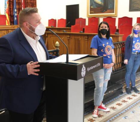 El Saló de Plens acull la lectura del manifest del Dia Mundial de la Conscienciació sobre l'Autisme