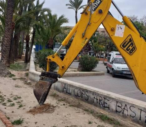El Ayuntamiento inicia los trabajos de mejora del huerto de la Cuerna en Altabix