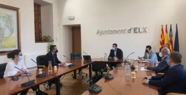 El Ayuntamiento acuerda con Cedelco y Aesec iniciar los trámites para crear la Entidad de Gestión y Modernización del Polígono de Carrús