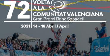 Salida de la 72 edición de la Vuelta Ciclista a la Comunidad