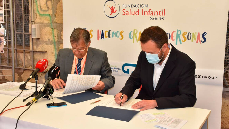 El Ayuntamiento cede un terreno municipal en Travalón para la construcción del Instituto de Neurodesarrollo de la Fundación Salud Infantil