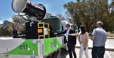 El Ayuntamiento de Elche y CTL intensifican la fumigación contra los mosquitos y refuerzan los controles en las zonas de difícil acceso