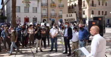 El Ayuntamiento y la Generalitat trasladan su respaldo absoluto a los regantes en su defensa al Trasvase Tajo-Segura