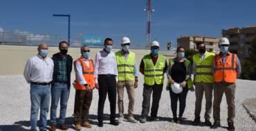 El Ayuntamiento de Elche finaliza las obras del nuevo depósito de Arenales del Sol y de El Altet que permitirá abastecer con agua potable a las pedanías a partir de este verano