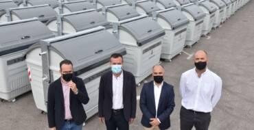L'Ajuntament instal·la 500 moderns i eficients contenidors per a millorar la neteja en els camins rurals del Camp d'Elx