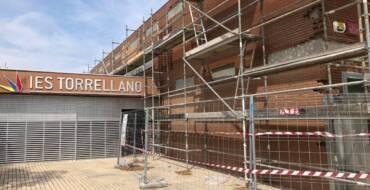 La Generalitat aprueba la propuesta de adjudicación de las obras de la fachada del IES de Torrellano