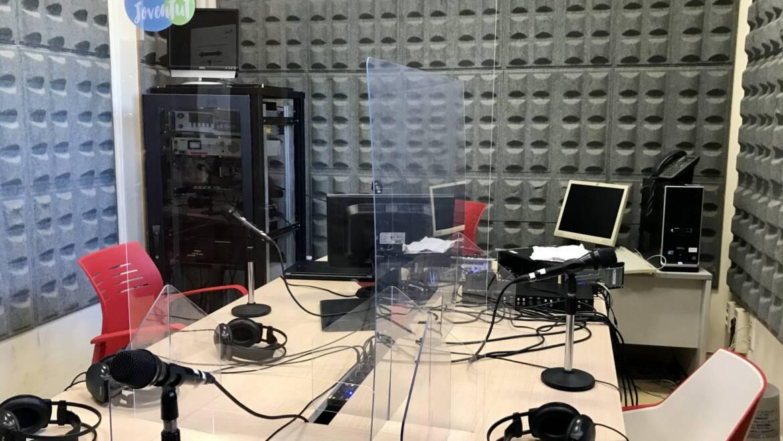 Estudio de Radio Joven Digital
