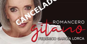 ROMANCERO GITANO de Federico García Lorca      -CANCELADO-