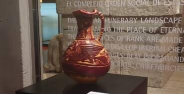 El MAHE cedeix de manera temporal una gerra de ceràmica ibera a la Fundació Botín per a una exposició internacional sobre Picasso
