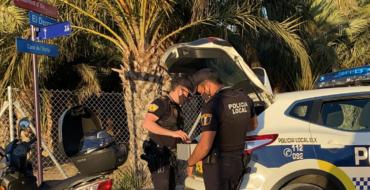 La Policía Local de Elche detiene a un hombre por tráfico de drogas en un control de seguridad