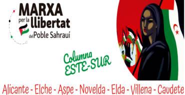 El Ayuntamiento, a través de la concejalía de Cooperación, respalda la marcha por la libertad del pueblo Saharaui