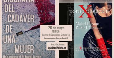 El Centro de Congresos acogerá la presentación del libro y el documental de Mabel Lozano sobre la pornografía el próximo miércoles 26 de mayo