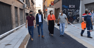 La calle Fatxo abre el miércoles convertida en una vía de prioridad peatonal