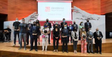 El alcalde y la concejala de Universidad participan en la XIV  edición de los Premios del Consejo Social de la UMH