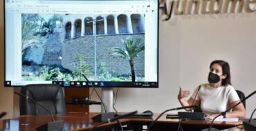 L'Ajuntament posa en marxa el projecte per a la consolidació del vessant del Vinalopó en aparéixer clivelles al costat del Molí del Real