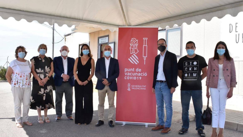 La Conselleria de Sanidad inicia con Urbaser la vacunación en empresas de la provincia