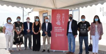 La Conselleria de Sanitat inicia amb Urbaser la vacunació en empreses de la província