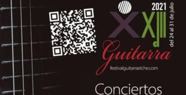 El Festival de Guitarra 'Ciutat d'Elx' retoma la normalidad en su 23ª edición