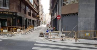 Movilidad inicia el asfaltado de la calle Sant Vicent para completar la actuación de mejora