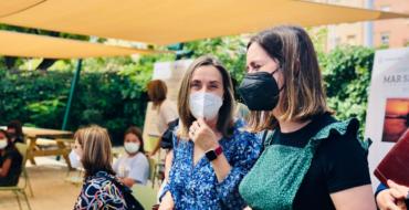 El Ayuntamiento de Elche apoya una campaña del IES Victoria Kent para concienciar sobre la contaminación ambiental en los centros educativos